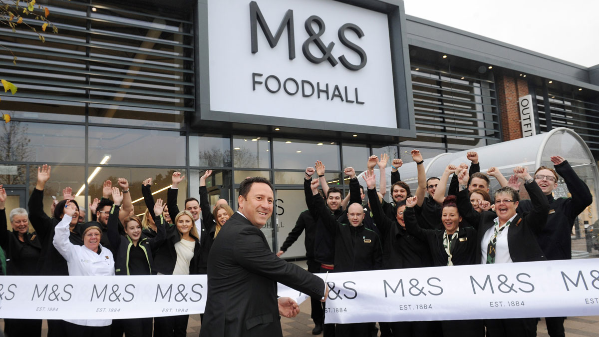 Kirkstall Bridge M&S Opening